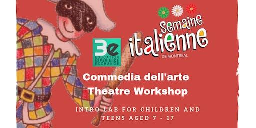 Commedia dell'arte Theatre Workshop
