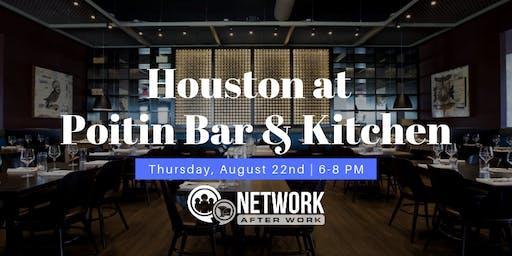 Network After Work Houston at Poitin Bar & Kitchen