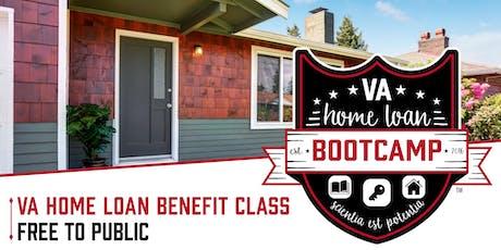 VA Home Loan Bootcamp Colorado Springs tickets