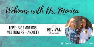 Online Webinar: Big Emotions, Meltdown + Anxiety