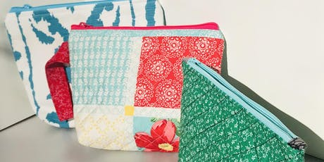 Intermediate Sewing: Zipper Pouches tickets