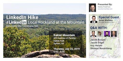 LinkedIn Hike: LinkedInLocal Rockland on the Mountain