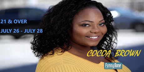 Cocoa Brown LIVE at The Hartford Funny Bone tickets