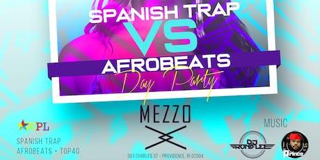 SPANISH TRAP VS AFROBEATS tickets