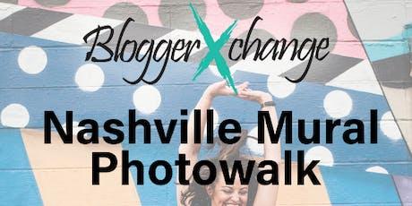 Nashville Mural Photowalk - 2019 XPO tickets