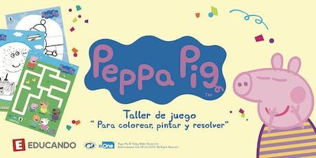El Taller de Juego de Peppa Pig en Jugueterías Educando  entradas