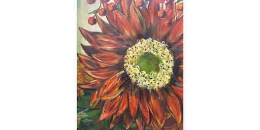 9/10 - Fall Sunflower @ Hidden Vine Bistro, Marysville
