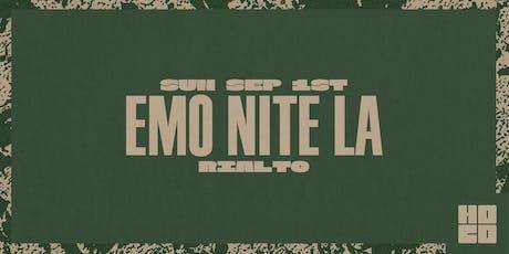 EMO NITE LA w/ Aaron Gillespie, Lil Aaron, & more at Rialto Theatre tickets