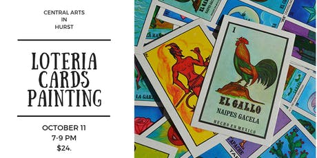 Loteria Card Painting/Hurst tickets