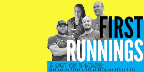 First Runnings: Beer and the Power of Social Media and Ratings Sites tickets