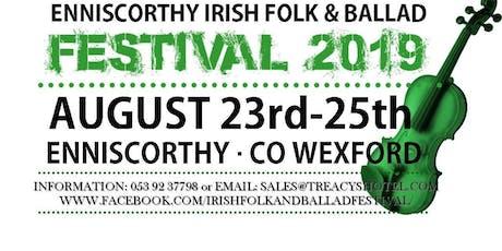 Enniscorthy Folk & Ballad Festival tickets
