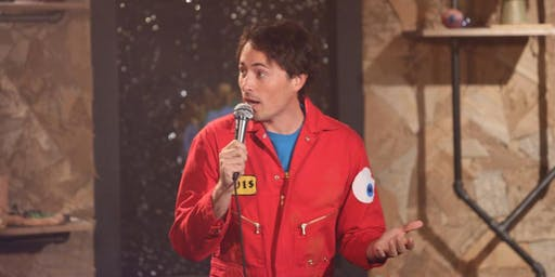 Comedian David Huntsberger