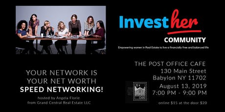 Long Island InvestHer Meetup - Speed Networking!! tickets