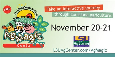 AgMagic Cenla Wednesday, November 20, 2019 tickets