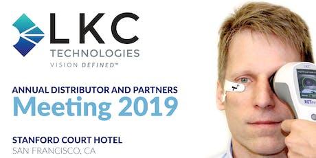 LKC Distributors Meeting at AAO 2019 tickets