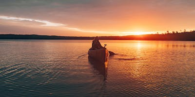 Sunset Guided Canoe Trip