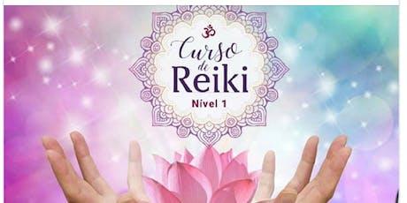 Curso de Reiki Usui Nível 1 ingressos