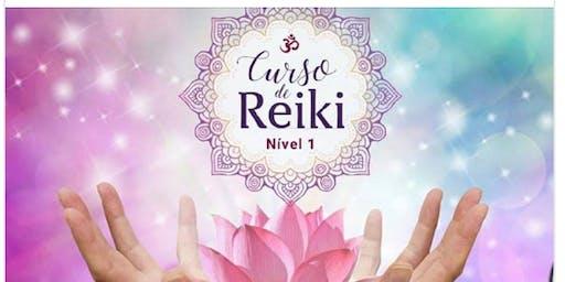 Curso de Reiki Usui Nível 1