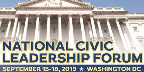 Press Conference  -  2019 National Civic Leadership Forum tickets