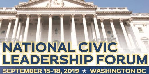 Press Conference  -  2019 National Civic Leadership Forum