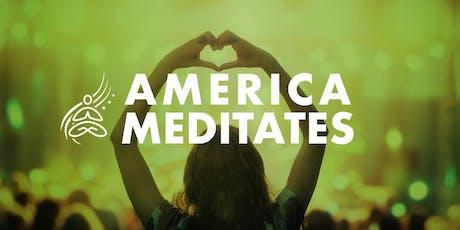 America Meditates tickets