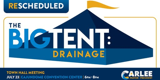 The Big Tent: Drainage