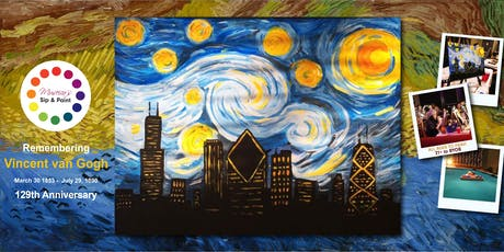 Museica's BYOB Sip & Paint - Chicago Starry Night tickets