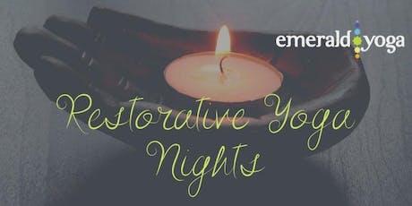 Restorative Yoga at Emerald tickets