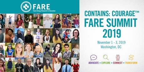 Contains: Courage FARE Summit 2019  tickets