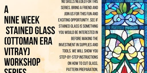 Stained Glass Workshop Series