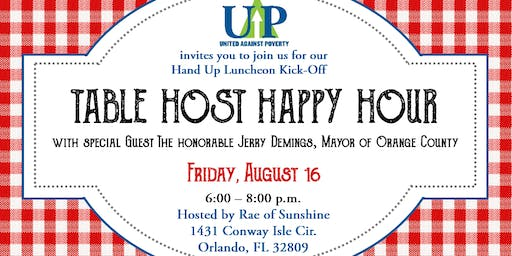 Table Host Happy Hour