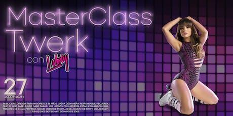 Master Class Twerk con Labxy entradas