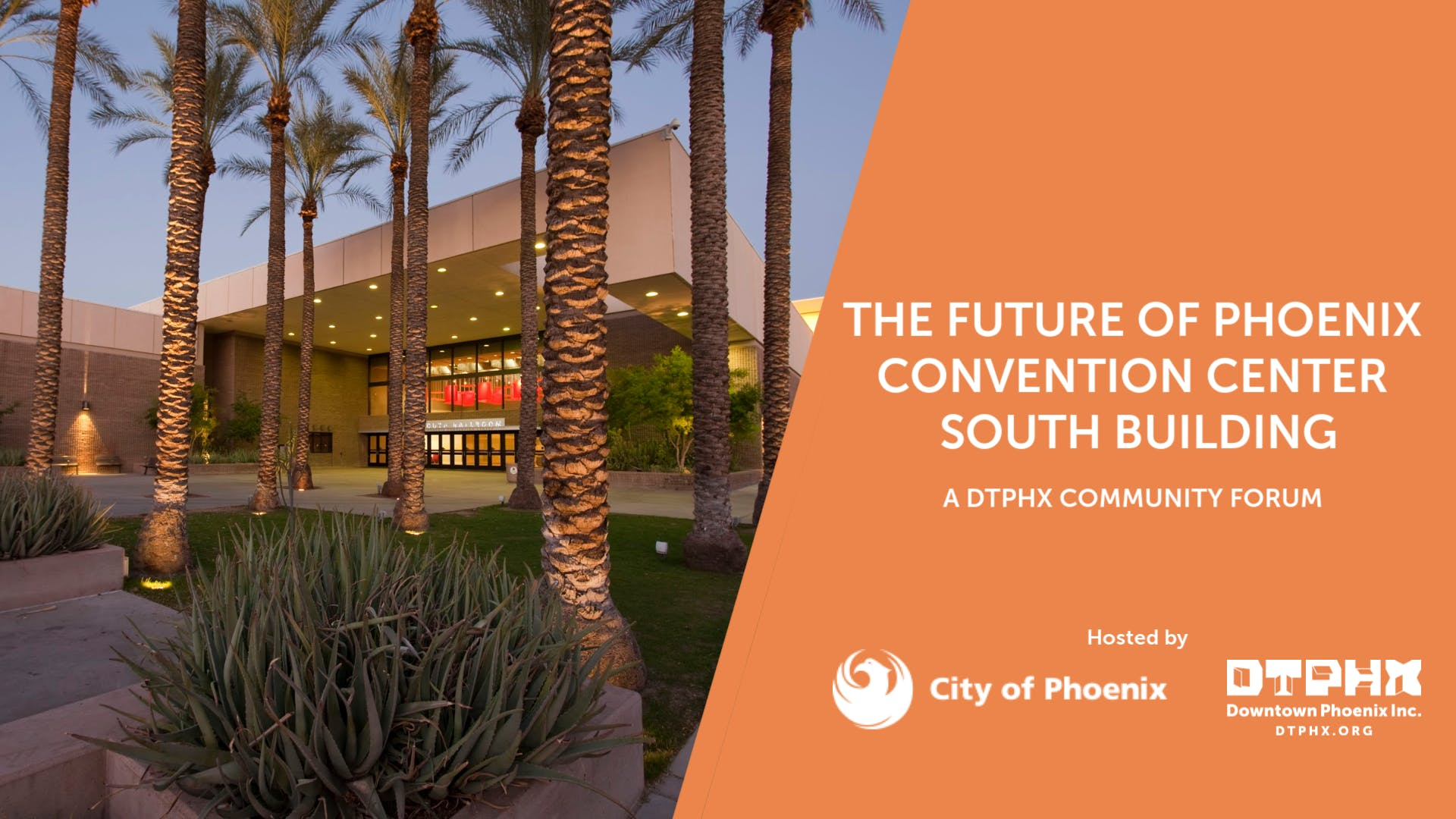The Future of Phoenix Convention Center South Building