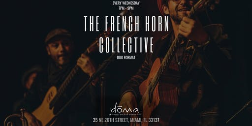 The French Horn Collective: Duo Format at dōma in Wynwood
