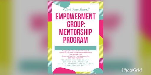A Teen's Choice: Empowerment Group