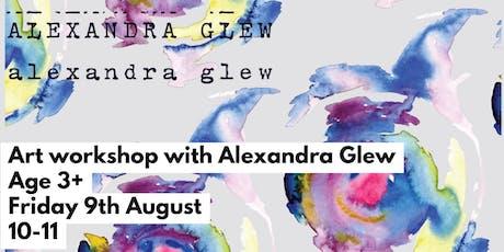 Art with Alexandra Glew tickets