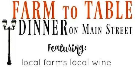 Albertville Farmers' Market Farm to Table Dinner (on Main Street) tickets