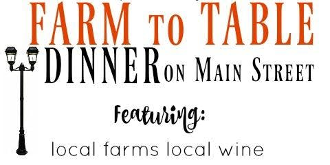 Albertville Farmers' Market Farm to Table Dinner (on Main Street)