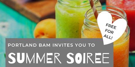 Portland BAM Summer Soiree tickets