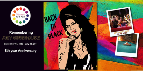 Museica's BYOB Sip & Paint - Amy Winehouse Anniversary (September 14, 1983 - July 23, 2011 ) tickets