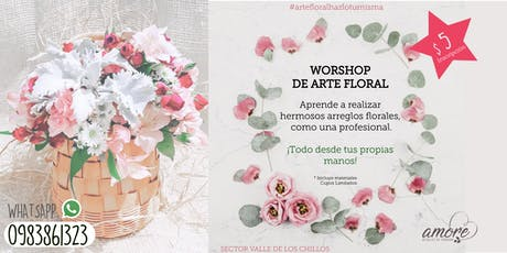 WORKSHOP DE ARTE FLORAL entradas