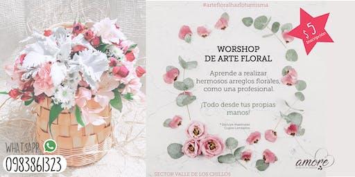 WORKSHOP DE ARTE FLORAL
