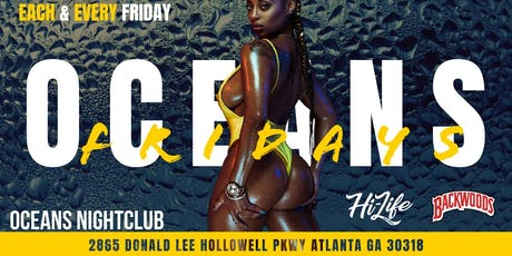 Oceans Friday's tickets