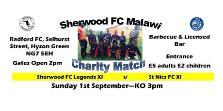 Sherwood FC v St Nics 1.9.19 tickets