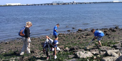International Coastal Clean-Up Day 2019: North Channel Bridge