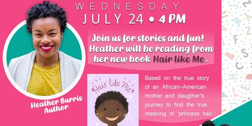 Joiful Thoughts Presents: Hair Like Me Story Time & Play!