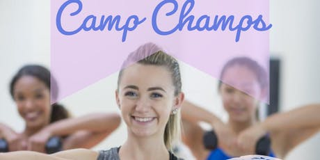 CAMP CHAMPS: 5 Day Health & Fitness Camp for Kids! tickets