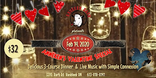Annëken's Valentine Special with duo SIMPLE CONNEXION