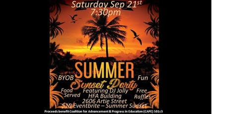 Summer Sunset Party tickets