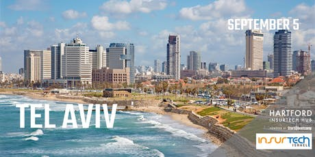 Tel Aviv FastTrack - Hartford InsurTech Hub powered by Startupbootcamp  tickets